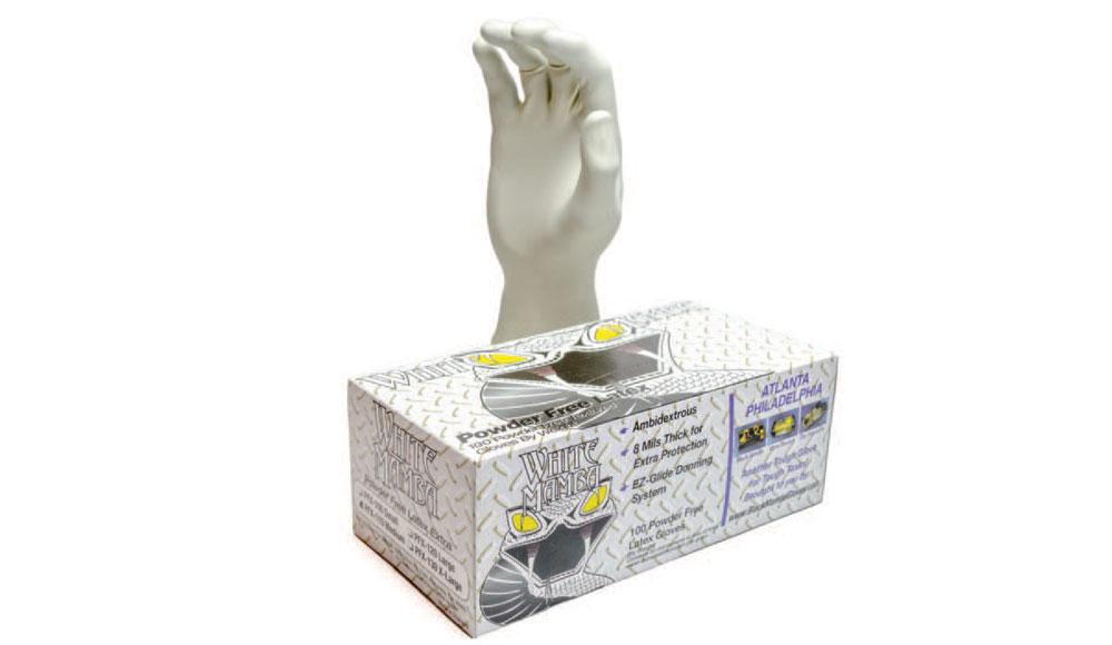 White Black Mamba Gloves