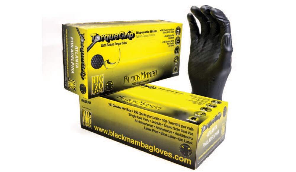 Black Torque Black Mamba Gloves