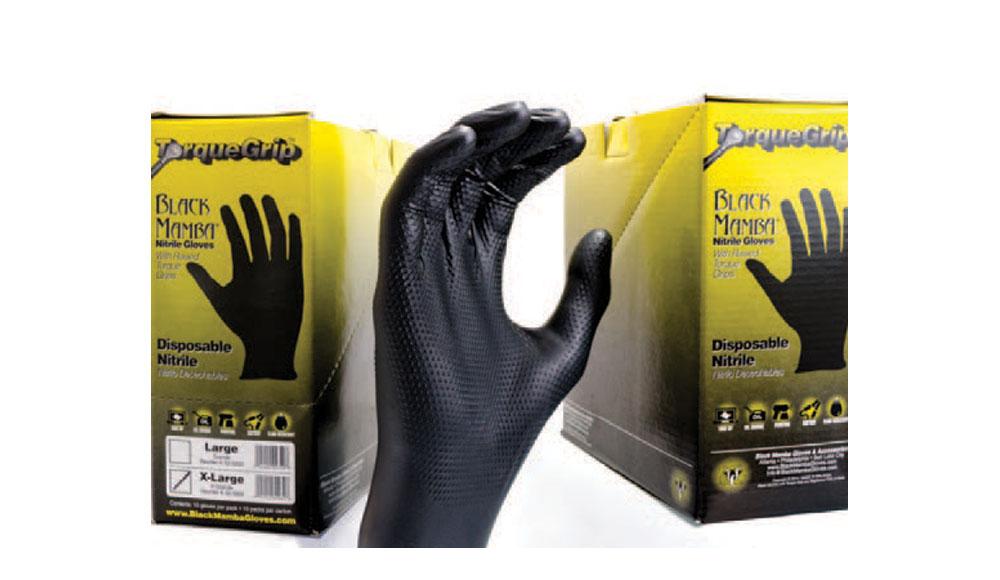 Snakeskin Black Mamba Gloves